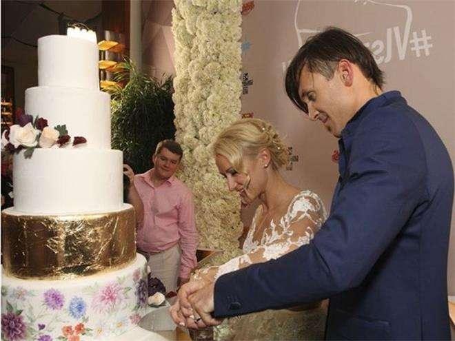 Татьяна Волосожар и Максим Траньков отметили годовщину свадьбы