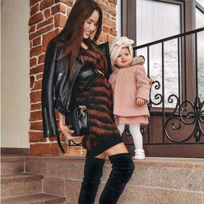 Костенко с дочерью