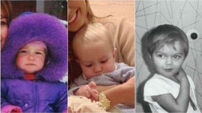 Дмитрий Маликов и его дети в детском возрасте