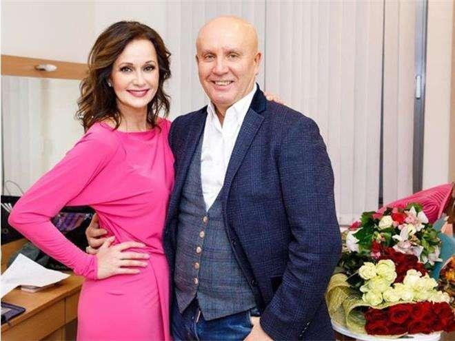 Ольга Кабо с мужем Николаем Разгуляевым