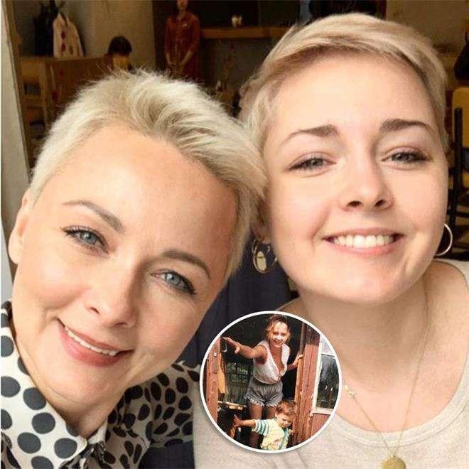 Дарья Повереннова с дочкой Полиной
