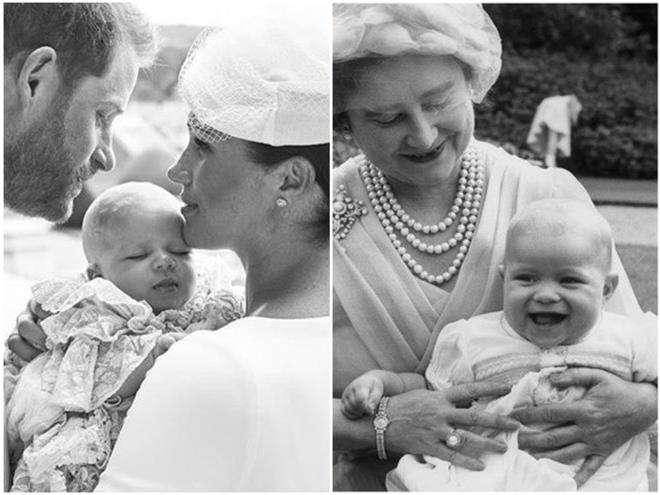 Арчи Харрисон похож на своего двоюродного дедушку принца Эндрю
