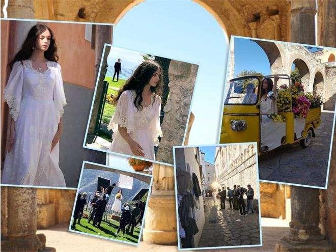 Дева Кассель на съемках для Dolce&Gabbana