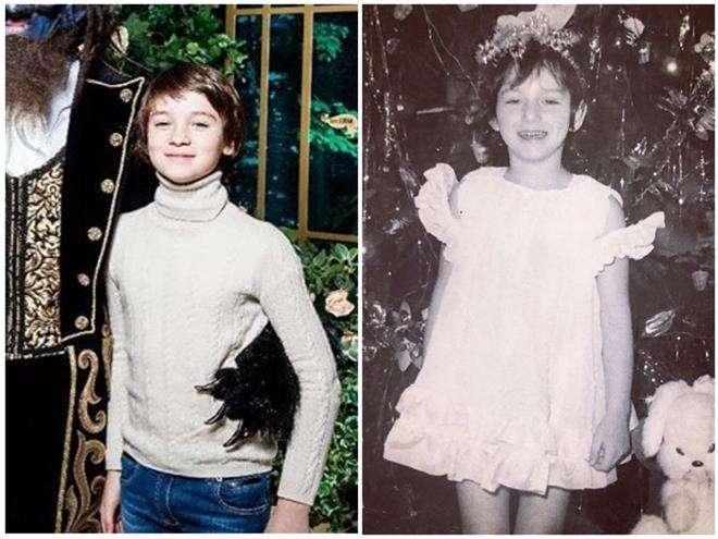 Младший сын Алика Смеховой - копия мамы в детстве
