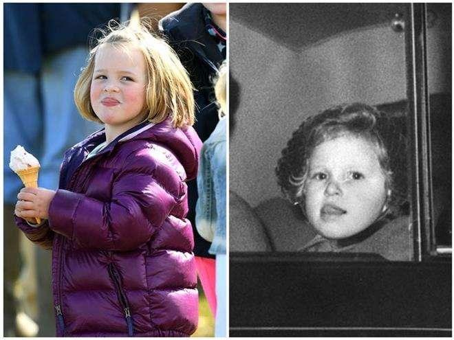 Мия Тиндалл похожа на свою бабушку принцессу Анну
