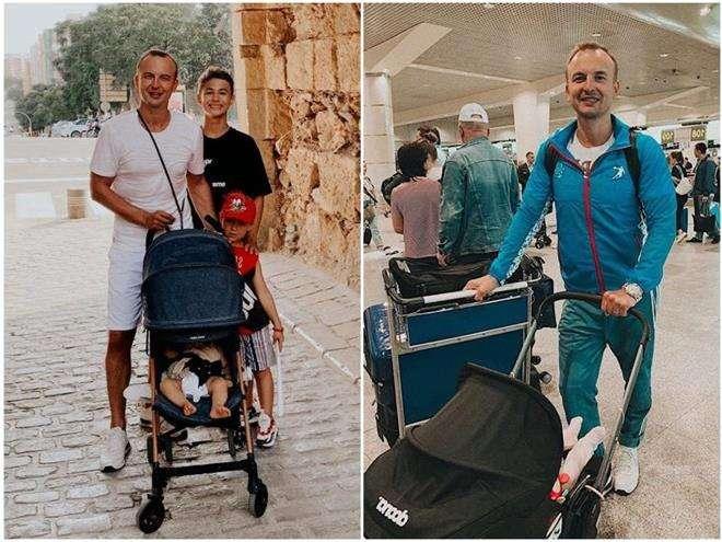 Игорь Сивов с детьми