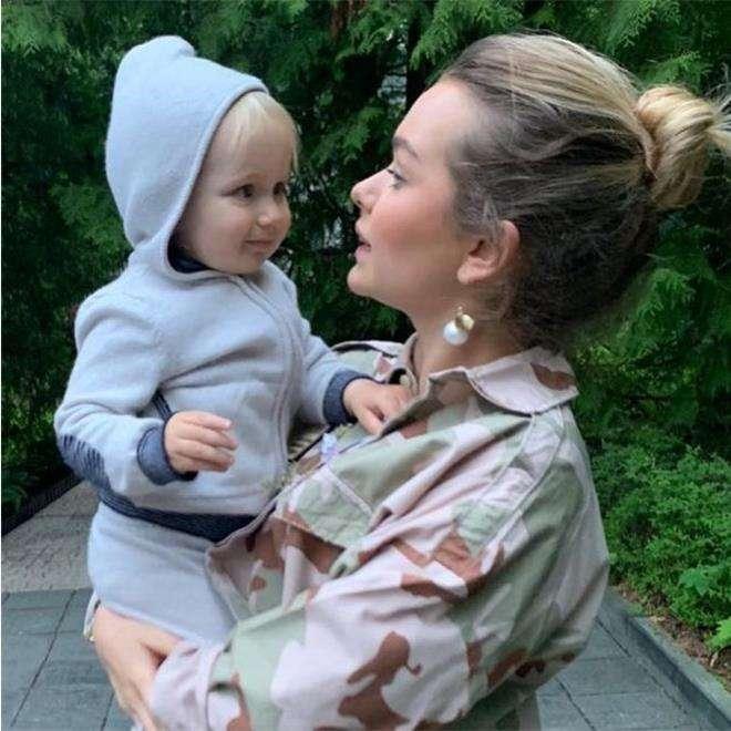Стефания Маликова с младшим братом Марком