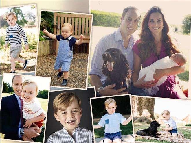 Официальные портреты принца Джорджа