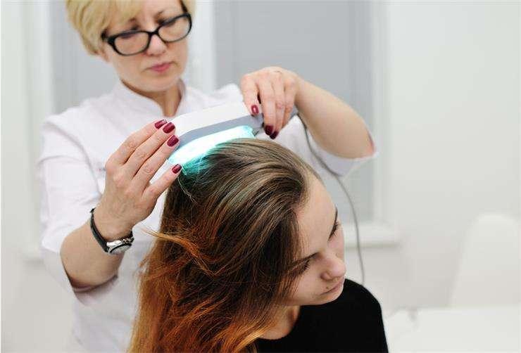 Диагностика микроспории волосистой части головы