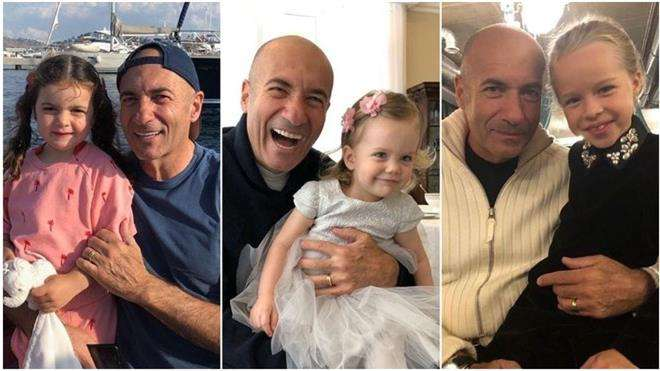 Игорь Крутой с внучками