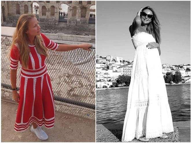 Мария Миронова до и после родов