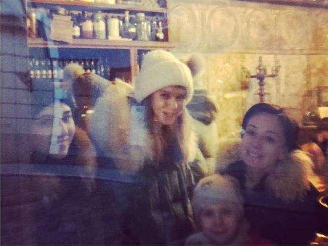 Чулпан Хаматова с дочками