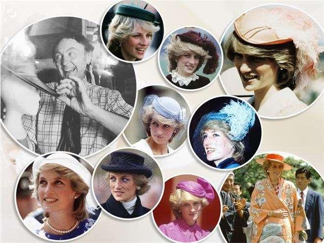 Шляпки принцессы Дианы от дизайнера Джона Бойда