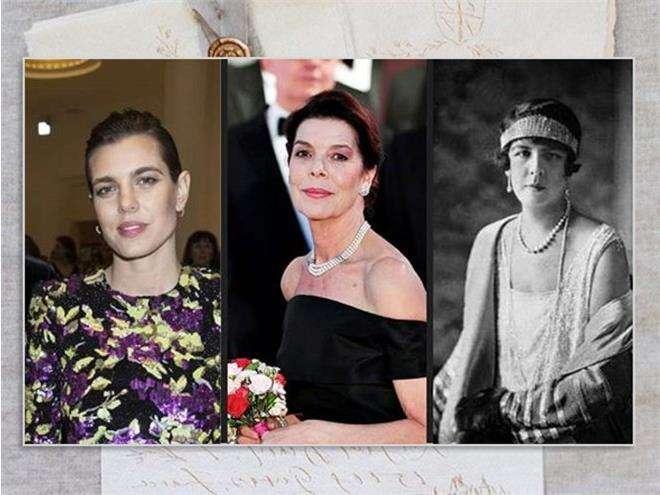 Принцесса Шарлотта Гримальди, принцесса Каролина и Шарлотта Казираги
