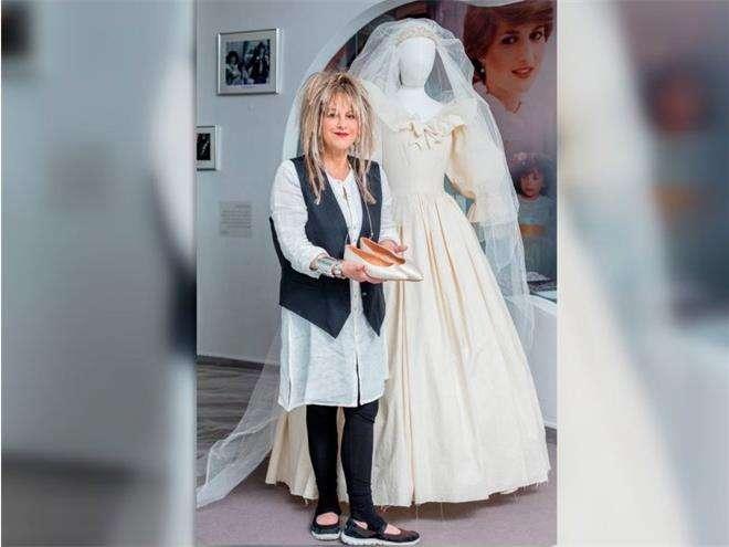 Свадебное платье принцессы Дианы от дизайнера Элизабет Эмануэль