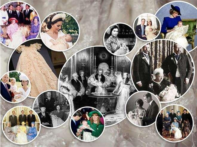 Крестильное платье британской королевской семье