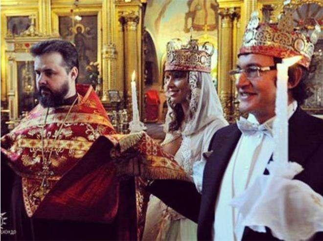 Венчание Дмитрия и Полины Дибровых