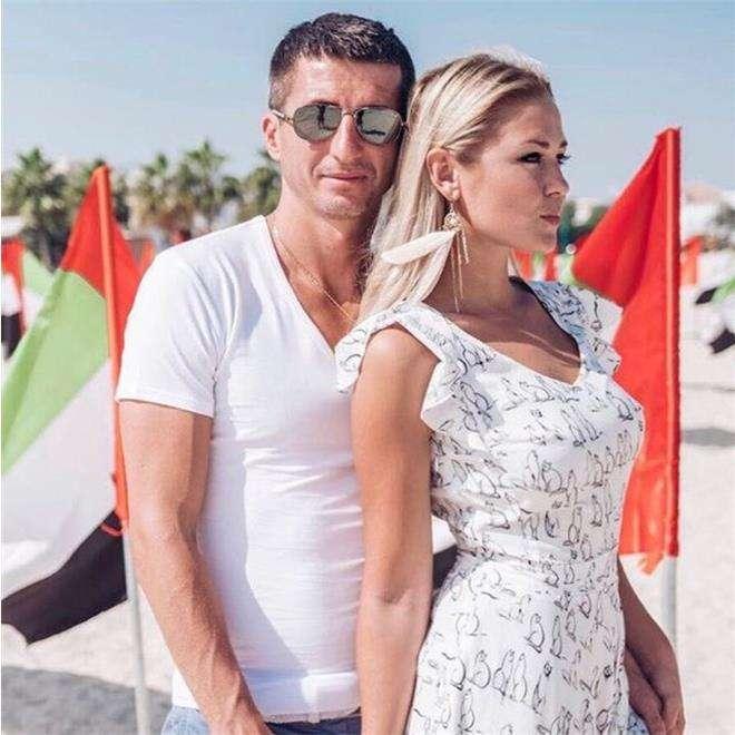 Евгений Алдонин с женой Ольгой
