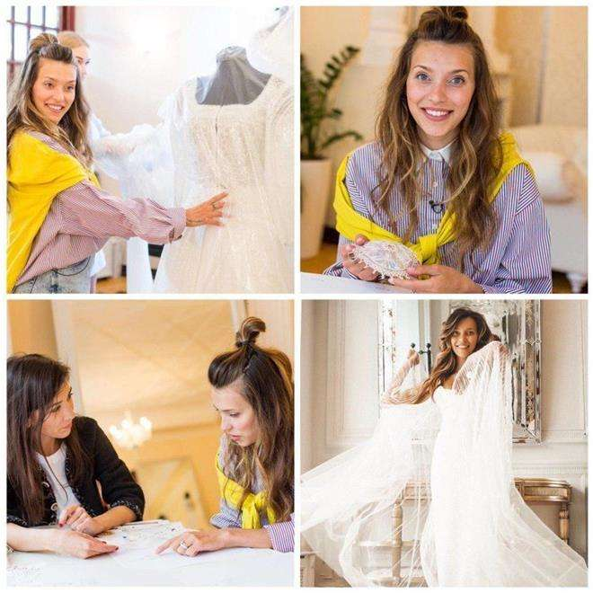Выбор свадебного платья Регины Тодоренко
