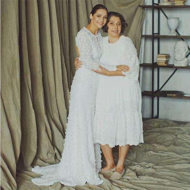 Глафира Тарханова с мамой