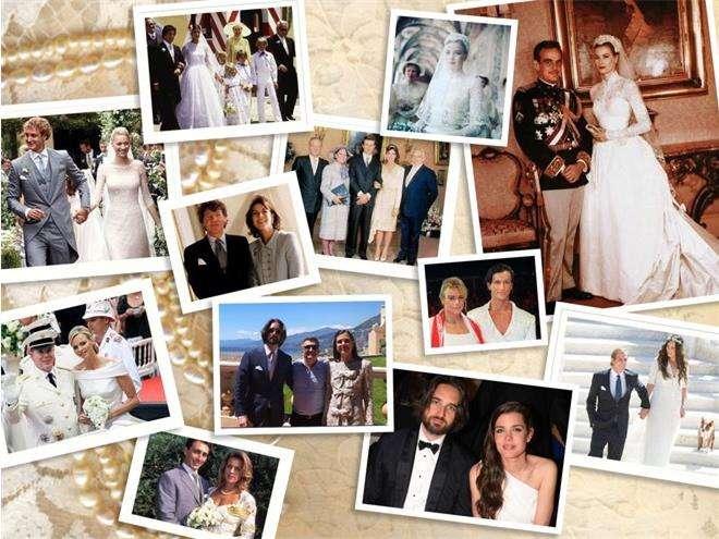Свадьбы в княжестве Монако