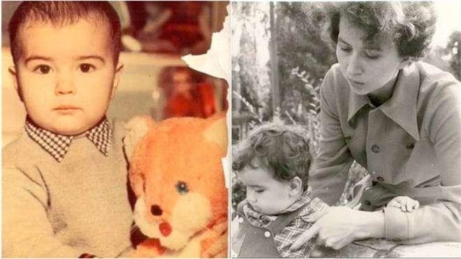 Денис Клявер показал детские фото