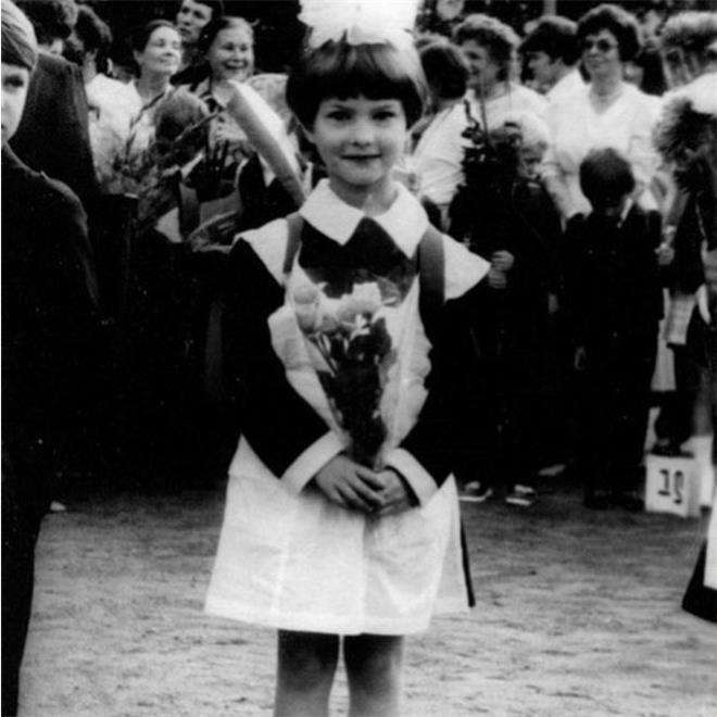 Светлана Иванова в детстве