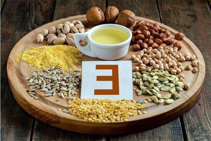 Витамин е в каких продуктах