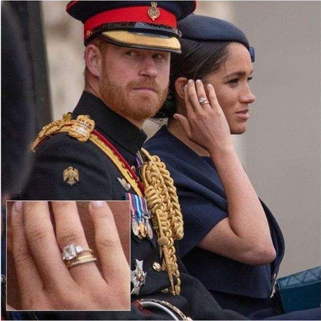 Принц Гарри подарил Меган Маркл кольцо на годовщину свадьбы