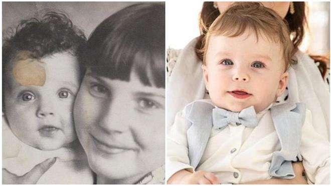 Сын Екатерины Вуличенко невероятно похож на маму в детстве