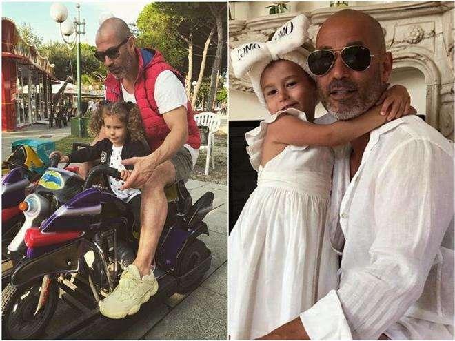 Лев Гейхман с дочкой