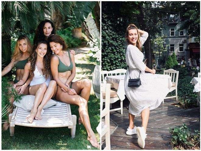 Регина Тодоренко проводит отпуск в Одессе
