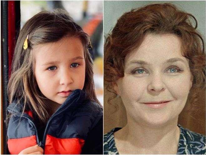 Младшая дочка Ивана Урганта похожа на его бабушку, Нину Ургант