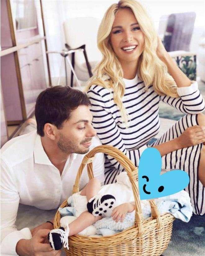 Виктория Лопырева и Игорь Булатов с сыном