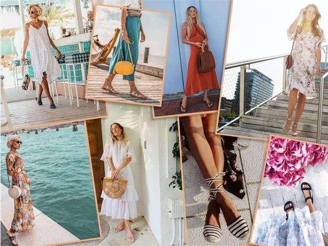 С какой обувью носить летние платья?