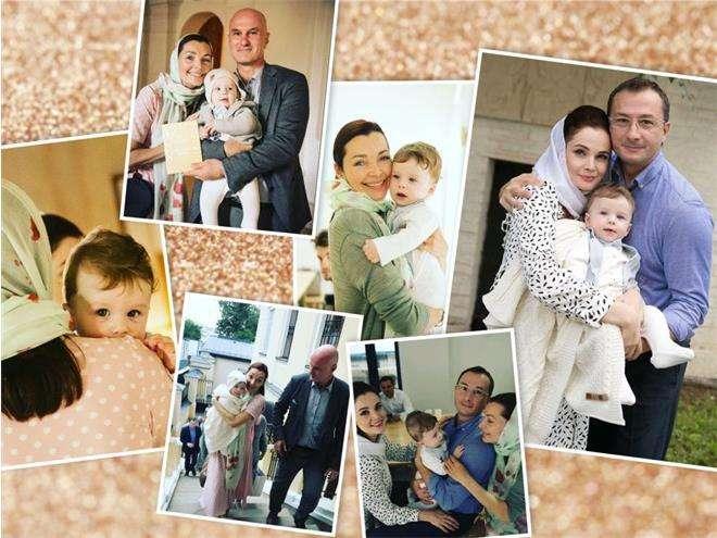 Крещение сына Екатерины Вуличенко