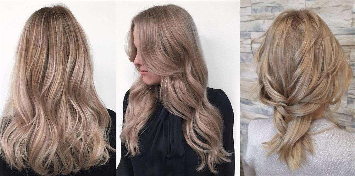 Пепельно-бежевый Ash-beige blond