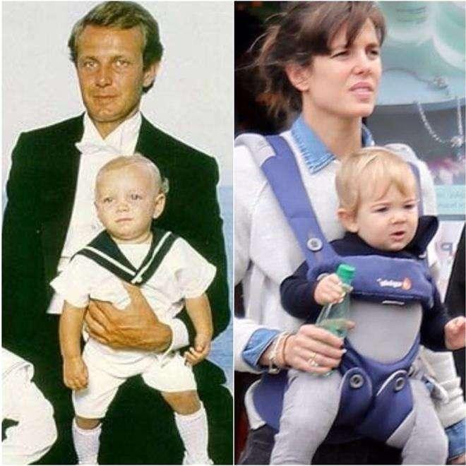 Младший сын Шарлотты Казираги похож на ее брата Пьера Казираги