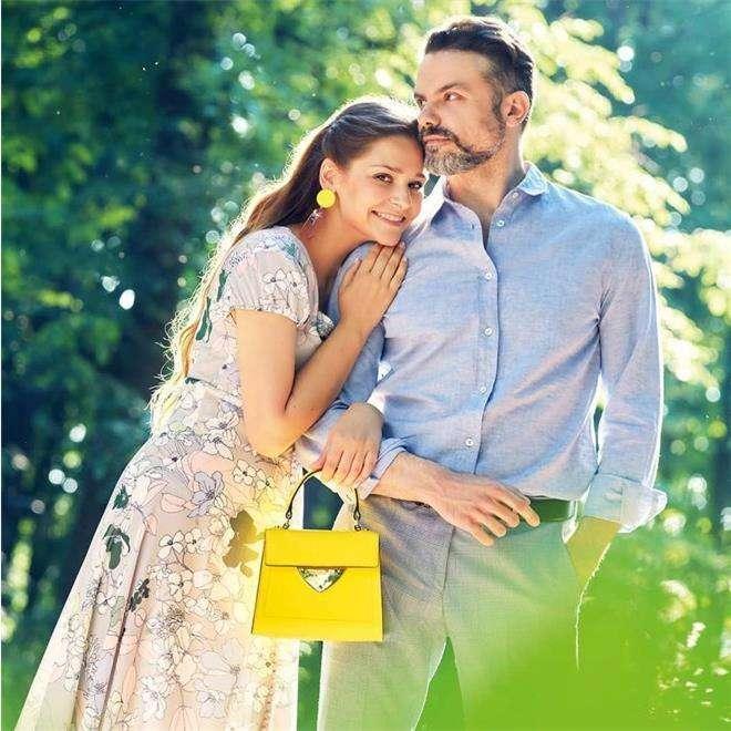 Глафира Тарханова с мужем