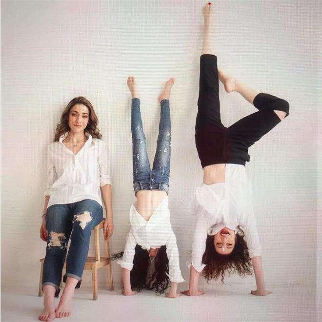 Алена Хмельницкая с дочками