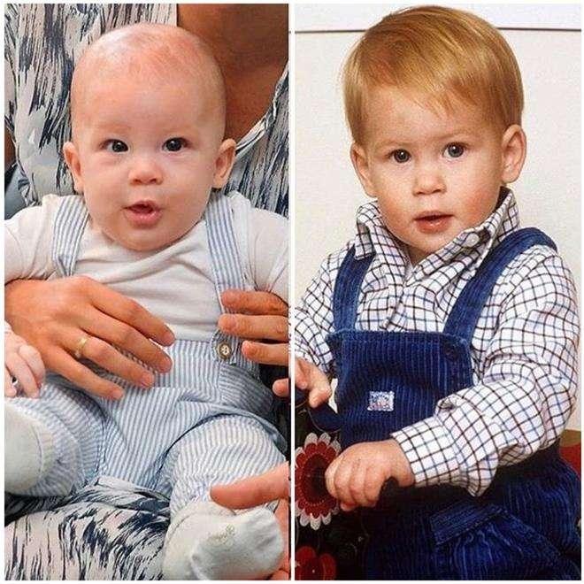 Принц Гарри и его сын Арчи Харрисон
