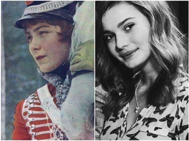 Внучка Ларисы Голубкиной похожа на бабушку