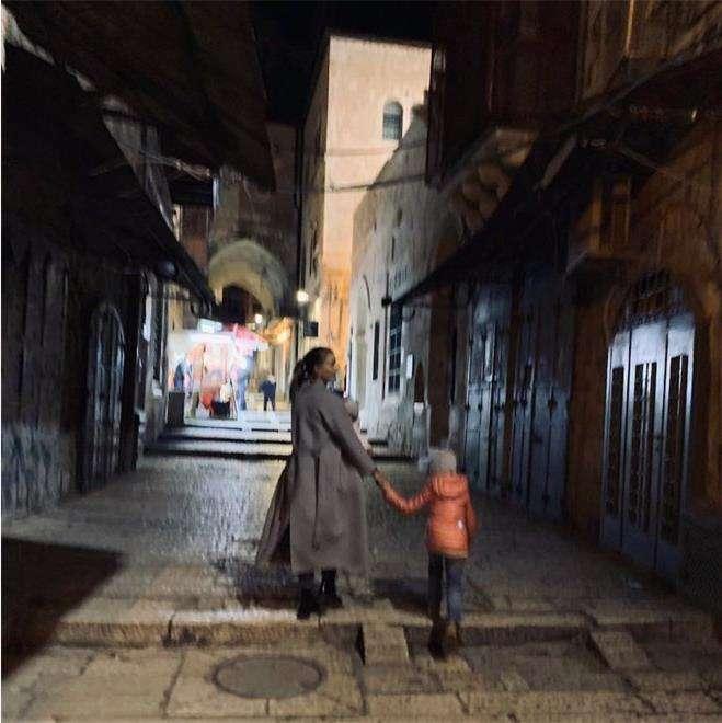 Светлана Иванова в Израиле