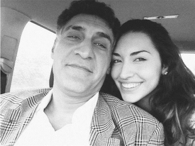 Тигран Кеосаян со старшей дочкой Александрой