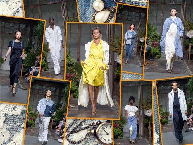 Внучка Грейс Келли представила коллекцию одежды на Неделе моды в Париже