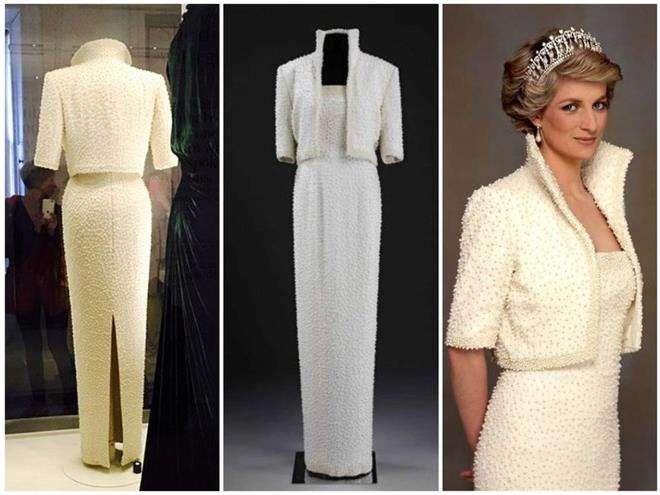 Легендарное «Платье Элвиса» принцессы Дианы от дизайнера Кэтрин Уолкер